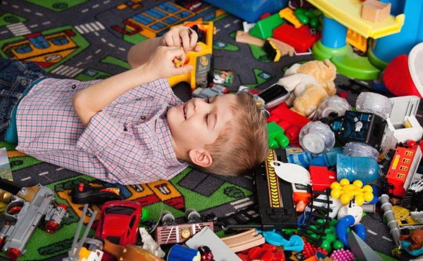 Spații utile pentru depozitarea jucăriilor